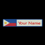 Philippines Flag & Name